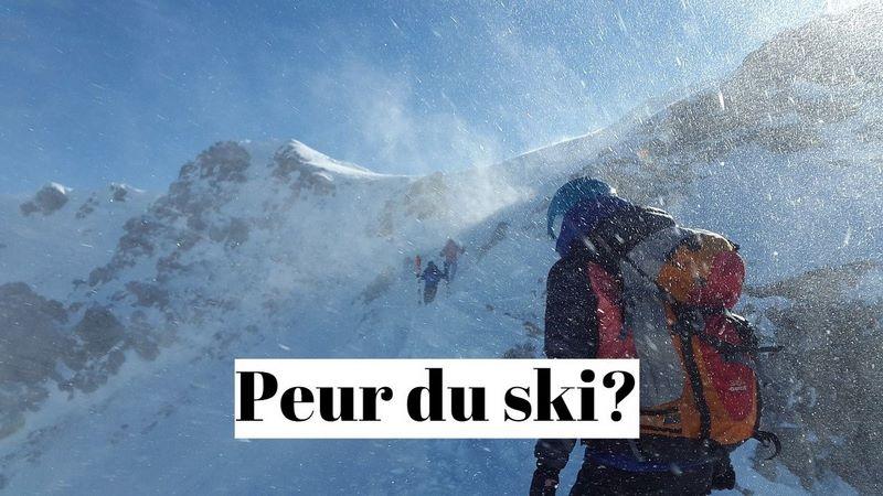 Comment vaincre la peur de faire du ski alpin?